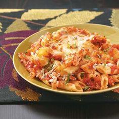 baked Mostoccioli Recipe -- can use leftover turkey