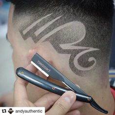 This is Awesome! Got this from Go check em Out Check Out for 57 Ways to Build a Strong Barber Clientele! Undercut Designs, Haircut Designs, Vintage Hairstyles, Cool Hairstyles, Barber Apron, Master Barber, Undercut Women, Hair Tattoos, Beard Styles