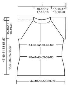 """Gestrickter DROPS Pullover in """"Muskat"""" mit Lochmuster, Raglanärmeln und Knöpfen am Rücken. Kann auch als Jacke getragen werden. Größe S - XXXL. ~ DROPS Design"""