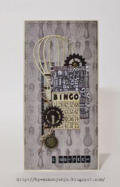 Картина, корзина, картонка и ...: Мужские открытки