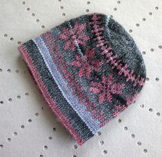 Ravelry: Pink Star pattern by Christine Roy
