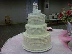 """Myers"" wedding cake"