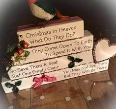 Christmas Ornament For Deceased Loved One