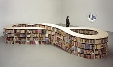 I would call it a Mobius bookcase.