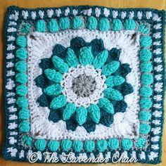 Sunshine Daisy Mandala Crochet Pattern