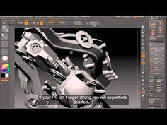 box modeling in zbrush - YouTube