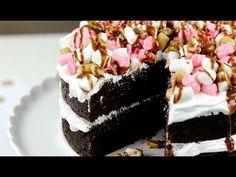 Rocky Road Cake Recipe - CAKE STYLE - YouTube