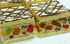 Romanian Desserts, Romanian Food, Striped Cake, Yule Log, Food Cakes, Cake Cookies, Waffles, Cake Recipes, Sweet Treats