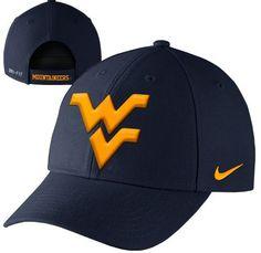 West Virginia Mountaineers Nike Dri-Fit Wool Classic Adjustable Hat