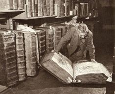 The giant library of Prague Castle.  Photo attributed to M. Peterka ca. 1940, #prague #czechrepublic #library #book #books #bookworm #reading
