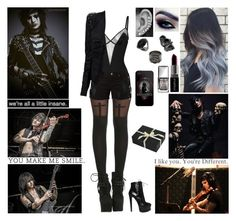 """""""Happy Birthday Jinxx! At His Birthday Party"""" by blueknight ❤ liked on Polyvore featuring Wolford, Amapô, Smashbox, Christian Dior, Dorothy Perkins, Repossi, Topshop, Amara, Alaïa and MusicSkins"""