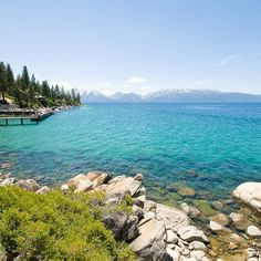 Zephyr Cove in Lake Tahoe- For activities on the water, in the water, or near the water, check out the Zephyr Cove Resort on Lake Tahoe's South shore. You can rent everything from power boats to kayaks to jet skis, or just relax on the sandy beaches. Check out Nevada Beach for fun people watching and breathtaking sunsets.