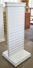 """Premium Slatwall Two Way  24""""W x 60""""H. Reinforced Slats  Was 350.00 Now ONLY $250.00  Get yours while supplies last at BarrDisplay.com"""