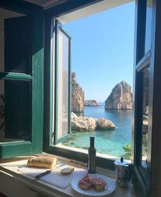 """I took this photo while having breakfast with my family last summer in Sicily. We will go back again, I promised my kids."" By Debi Mazar - The Places Youll Go, Places To Visit, Das Hotel, Destination Voyage, Window View, Creative Memories, Travel Aesthetic, Aesthetic Fashion, Dream Vacations"