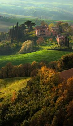 A million dollar view at every turn ~ Tuscany, Italy