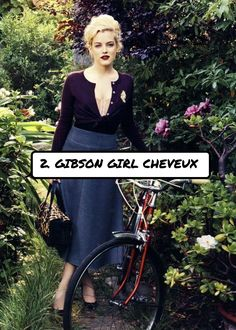2. #Gibson Girl cheveux