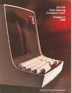 For the Time Sharing Computer User Datapoint 3300 | Computer History Museum