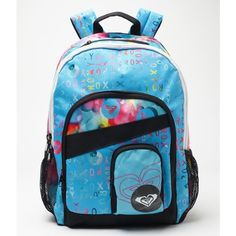 Roxy Noble Trek Backpack ( 29) ❤ liked on Polyvore featuring bags 23c8a94ac4ab3