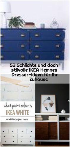 53 Schlichte und doch stilvolle IKEA Hemnes Dresser-Ideen für Ihr Zuhause , 53 Schlichte und doch stilvolle IKEA Hemnes Dresser-Ideen für Ihr Zuhause, #doch #DresserIdeen #für #HEMNES #Ihr... ,  #doch #DresserIdeen #für #Hemnes #IHR #Ikea #Schlichte #stilvolle #und #Zuhause Ikea Dresser Hack, Hemnes, Furniture, Home Decor, Ad Home, Ideas, Decoration Home, Room Decor, Home Furnishings
