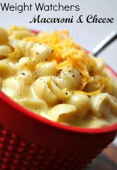 Weight Watchers Macaroni And Cheese Recipe {Only 4 Points!}