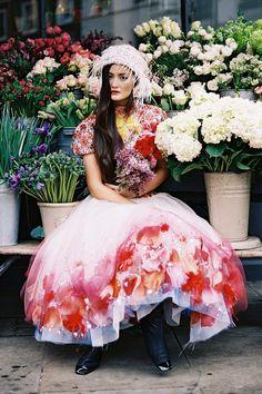 The Flower Shop - Peony Lim in CHANEL Spring 2015 Haute Couture #LKSxAERINgiveaway Lauren Kay Sims x Aerin LKSxAeringiveaway
