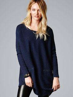 Poncho Sweater - A Kiss of Cashmere - Victoria's Secret