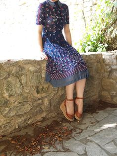 Vintage dress from JulesAtelier on Etsy