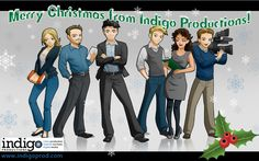 Merry Christmas and Happy Holidays from Indigo Productions!