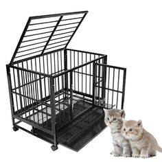 Generic uble-doo Dog Cage le-door De Heavy Duty 42' Double 42' Double-door Design n Heavy Dut Metal Pet Playpen et Playpen Crate Kennel l Pet Playpen *** For more information, visit image link. (This is an affiliate link and I receive a commission for the sales) #Pets