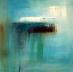 Abstract painting by Xenia Madison titled, 'Open to This Moment' selected for the 'Central Coast Wine Classic' 2008 annual fundraiser-  #art http://xeniamadison.com