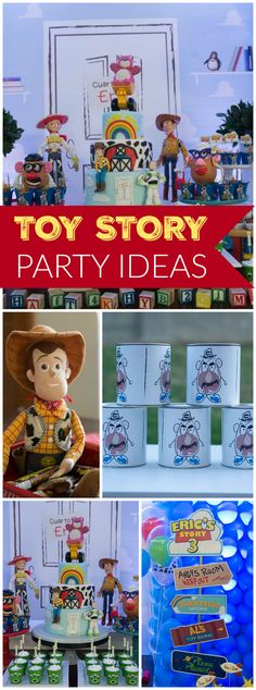 Lots of great ideas at this Toy Story birthday party!  See more party ideas at CatchMyParty.com!