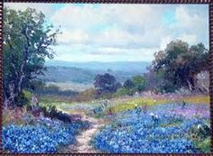 bluebonnet paintings by texas artist - Bing images