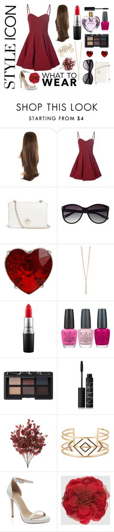 """Style Icon"" by emilyh0905 ❤ liked on Polyvore featuring Glamorous, Tory Burch, Vince Camuto, Betsey Johnson, MAC Cosmetics, OPI, NARS Cosmetics, Vera Wang, Stella & Dot and Gucci"