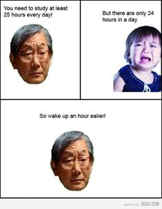 trolling high expectation dad..