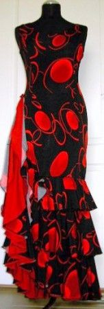 Šaty na flamenco