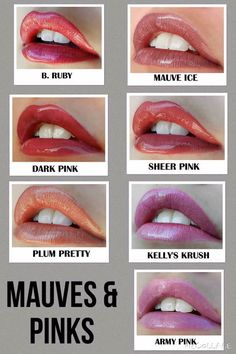 Mauves & Pinks