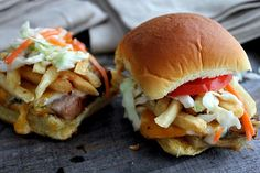 Baby Primanti Bros. Sandwiches! Only way to get a Primanti sandwich in Columbus is to make it yourself!