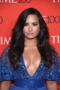 Demi Lovato – Time 100 Gala at Jazz at Lincoln Center in NYC Shakira, Demi Lovato Documentary, Demi Lovato 2017, Demi Lovato Pictures, Jazz At Lincoln Center, Face Shape Hairstyles, Square Faces, Celebs, Celebrities