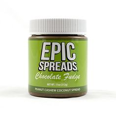 Epic Spreads - Chocolate Fudge Peanut Cashew Coconut Spread *** Hurry! Check out this great item : Fresh Groceries
