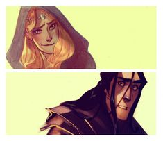 When Melkor and Sauron met for the first time.