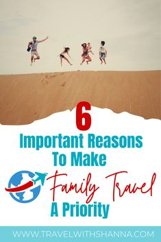 Is travel a priority in your family? Family travel has many benefits for kids and families. Travel with kids enriches their development and it affects their lives long into adulthood. Here are some great reasons to put travel higher on your family's priority list. #familytravel #travelwithkids #travelbenefits #traveltips Best Family Vacation Destinations, Vacation Quotes, Travel Destinations, Family Vacations, Family World, Family Family, Travel Blog, Travel Tips, Travel Hacks