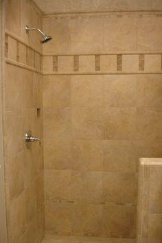 Shower Design Using X Tiles FROM LOWES Shower Designs - 12x12 tile shower walls