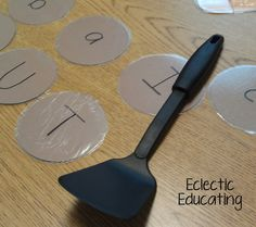 How to Make Letters Fun! Great ideas for helping little ones learn letters and letter sounds!