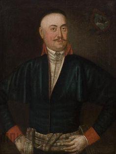 Józef Faworski, Portret szlachcica herbu Łodzia, 1790te Katalog MNK