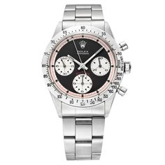 """Pre-Owned Rolex Cosmograph Daytona """"Paul Newman"""" Automatic Steel (6262)wish i had an extra 30K laying around for this guy"""