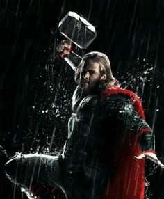 A gallery of Thor: The Dark World publicity stills and other photos. Featuring Chris Hemsworth, Natalie Portman, Tom Hiddleston, Christopher Eccleston and others. Chris Hemsworth Thor, Marvel Characters, Marvel Movies, Marvel Dc Comics, Marvel Avengers, Thor Games, Thor Ragnarok Movie, Thor 2, The Mighty Thor