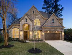 Perry Homes - Oak Forest Estate Series Design 4342   -    Houston, TX #HoustonHomes Houston Home