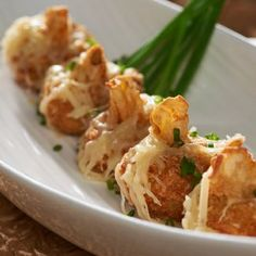 This is one of my favorite recipes! French Onion Soup Dumplings