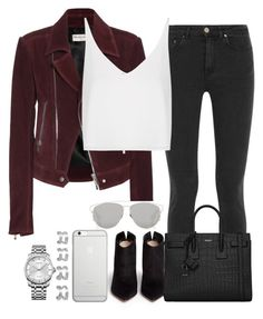 """""""Sem título #1134"""" by isacris-28 ❤ liked on Polyvore featuring Balenciaga, Christian Dior, Gianvito Rossi, Acne Studios, Yves Saint Laurent, Topshop, Native Union, Maison Margiela and Calvin Klein"""