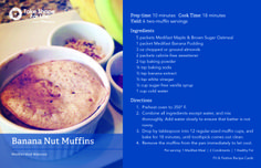 This makes SIX servings of TWO muffins each! Now that's a great way to start your family's day. #TSFL